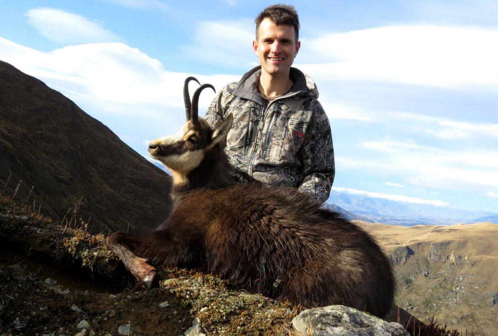 chamois hunting 10 inch chamois buck