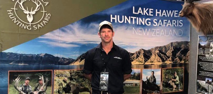 chris-mccarthy-new-zealand-hunting-guide at hunting show